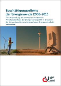 Beschäftigungseffekte der Energiewende 2008-2013