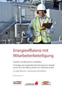 2012 Energieeffizienz mit Mitarbeiterbeteiligung