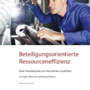 2013 Beteiligungsorientierte Ressourceneffizienz