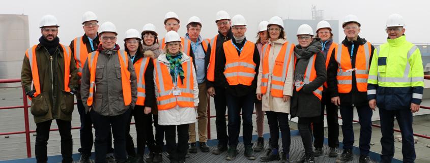 Besuch Kraftwerk Datteln, Stiftung Arbeit und Umwelt und Abt. Politik und Gesellschaft, 2019
