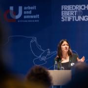 """Fachkonferenz """"Auf dem Weg zu nachhaltigen Lieferketten"""" Dr. Kajsa Borgnäs © MKH"""