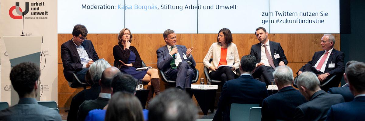Veranstaltung: Transformation der Industrie vor der Herausforderung des Klimawandels